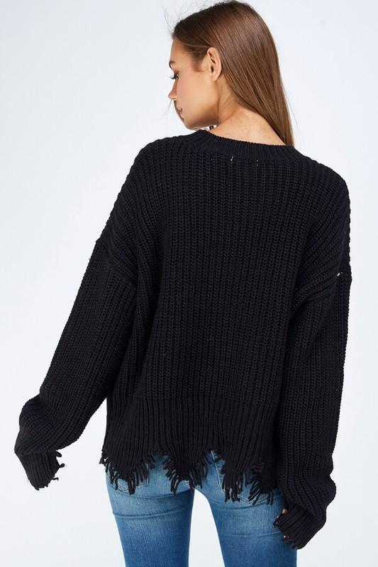 """Worries No ""Black Sweater"