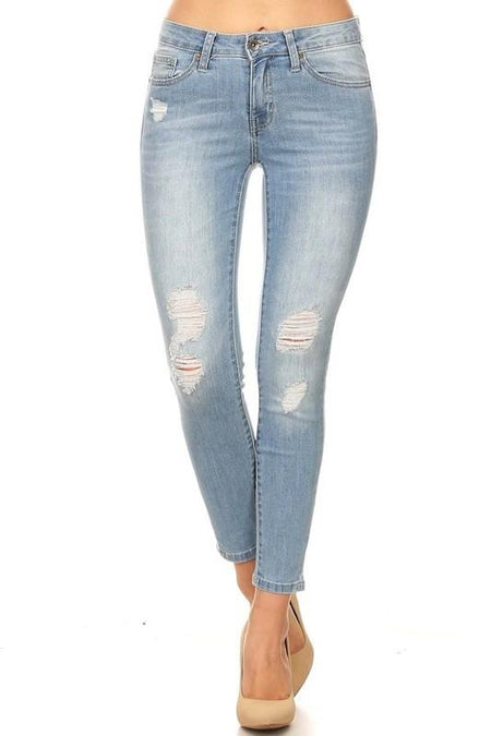 Starla Distressed Skinny Denim