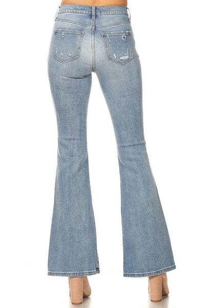 Vala High Rise Vintage Flare Jeans
