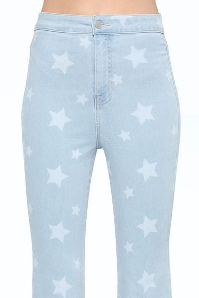 High Rise Star Super Flare - THE WEARHOUSE