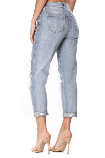 Roxy High Rise Boyfriend Jeans