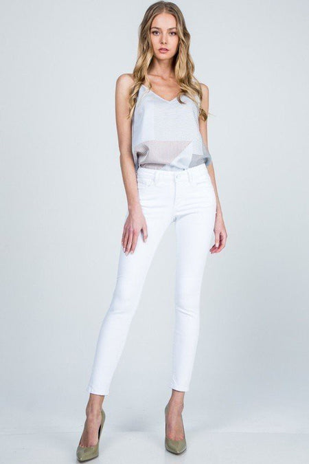Monique Medium Wash Flare Jeans