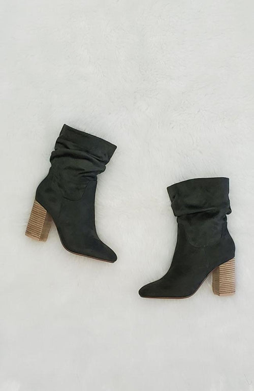 Dorothy Green Booties - THE WEARHOUSE