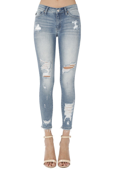 Amelia Summer Wash Denim - THE WEARHOUSE