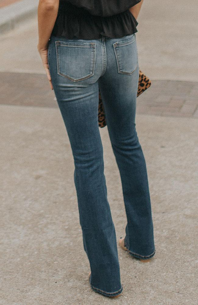 Bailey Slim Boot Cut Jeans