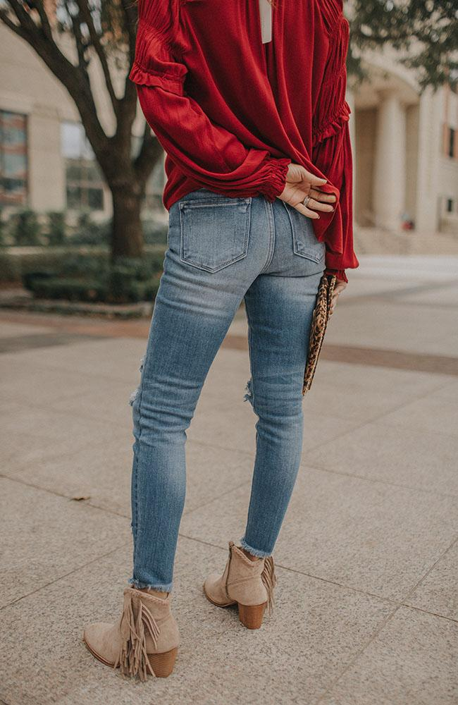 Sophy High Rise Skinny Jeans - THE WEARHOUSE