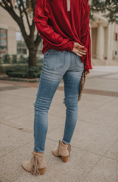 Sophy High Rise Skinny Jeans