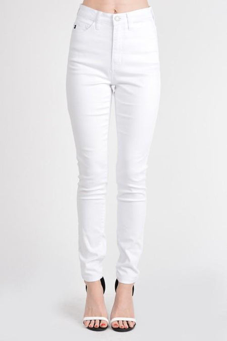 Madison Mid Rise Skinny Crop Jeans