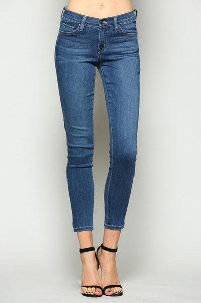 Janatha Mid Rise Skinny Ankle Jeans