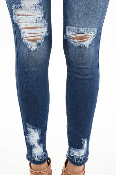 Dark Ankle Jeans - THE WEARHOUSE