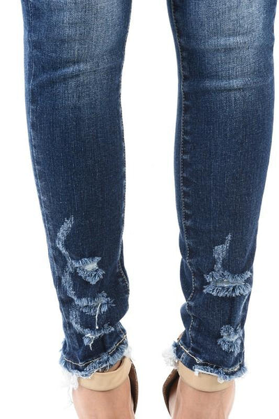 Tia Skinny Distressed Jeans - THE WEARHOUSE