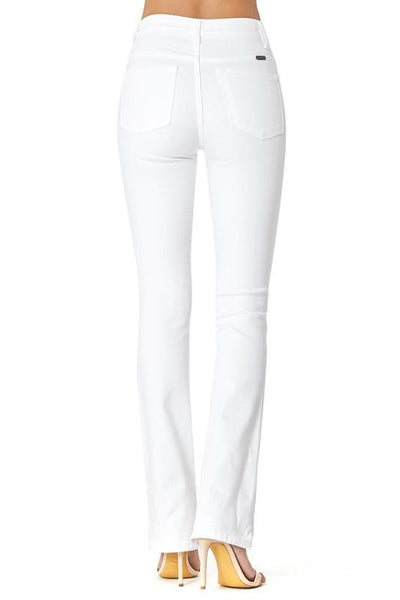 Marie White Denim Boot Cut Jeans - THE WEARHOUSE