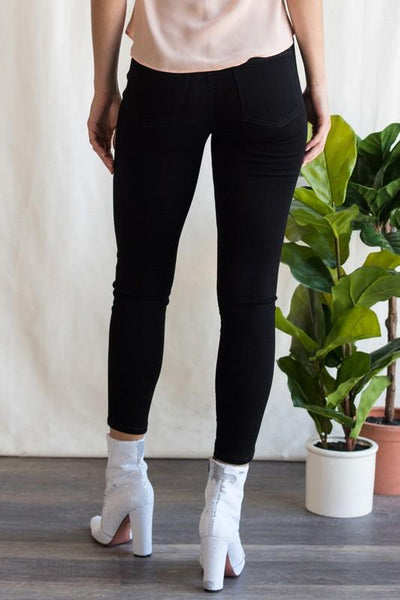 Billie Black Over-dye High Rise Leggings - THE WEARHOUSE