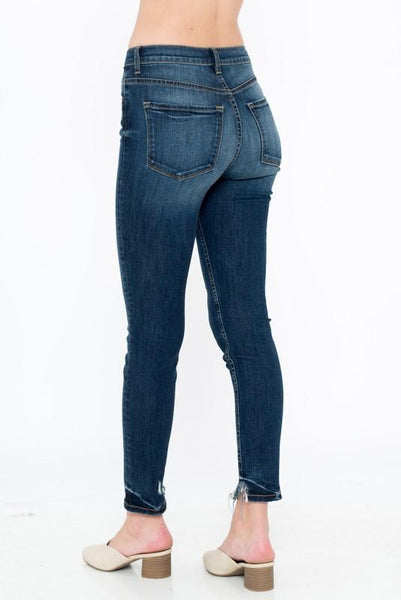 Ava Four Botton High Rise Jeans
