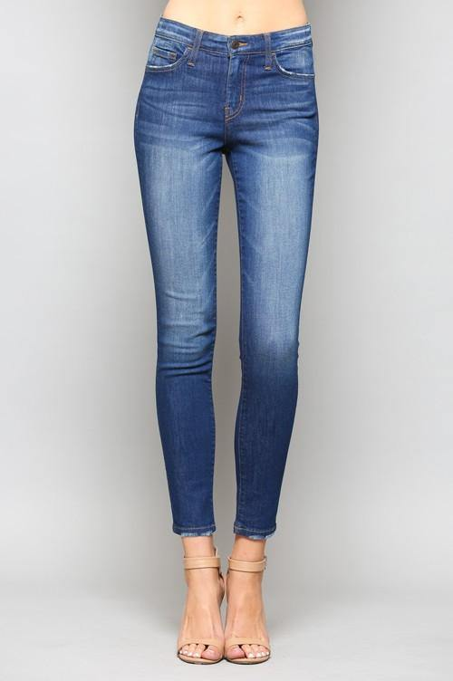 Driftwood Mid Rise Crop Jean - THE WEARHOUSE