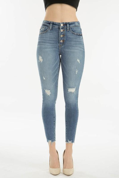 Tiffany High Rise Skinny Jeans