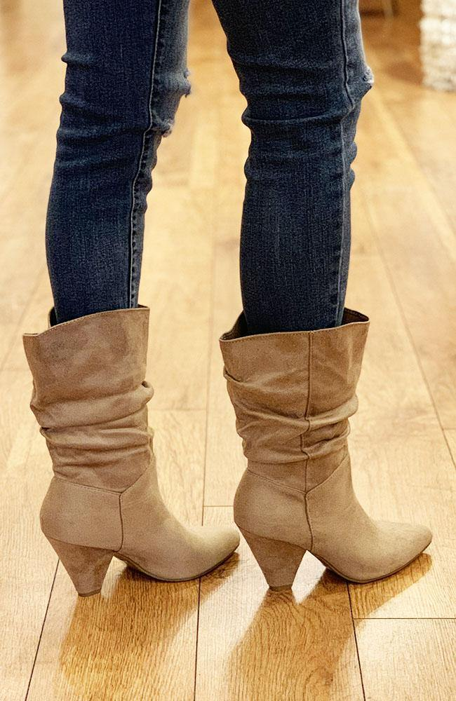 Camel Darby Boot