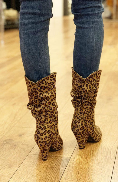 Darby Leopard Boot