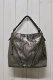 Metallic Hobo Bag - THE WEARHOUSE