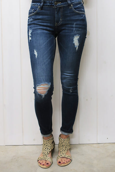 Mid rise Skinny Ankle Jeans - THE WEARHOUSE