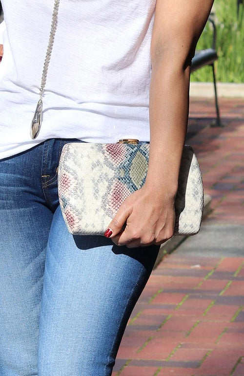 Multi Colored Reptile Clutch