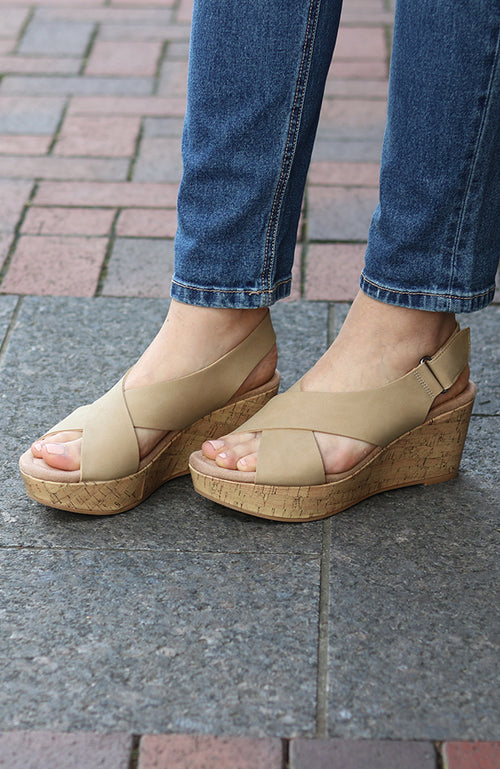 Nude Delight Wedge