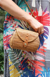 Small Wicker Clutch