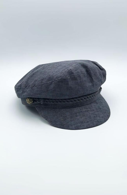 Charcoal Conductor Hat - THE WEARHOUSE