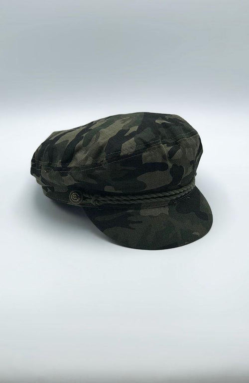 Camouflage Conductor Hat - THE WEARHOUSE