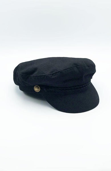 Black Conductor Hat - THE WEARHOUSE
