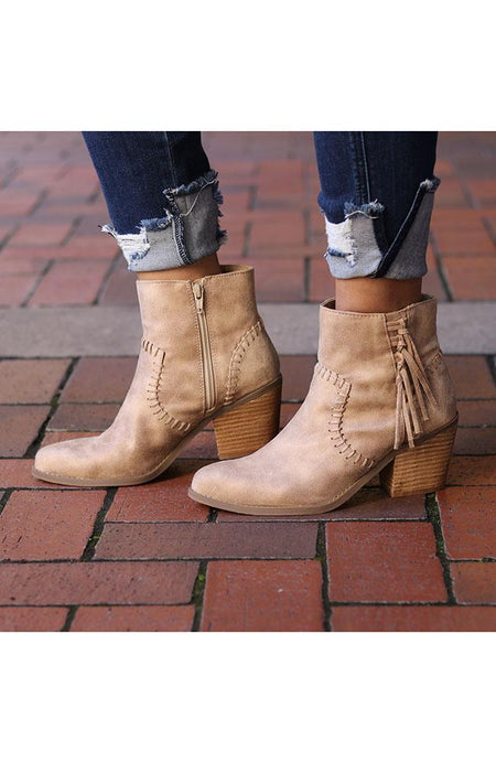 Gold Snakeskin Booties