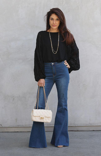 Mindy Denim High Waisted Jeans