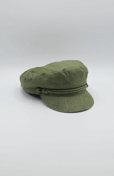 Olive Conductor Hat