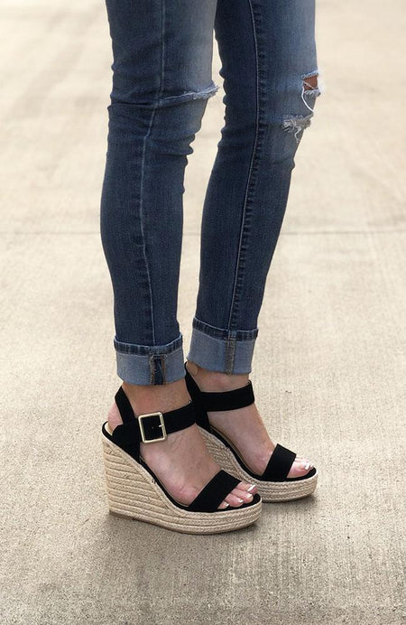 Beige Stripe Cabana Sandals