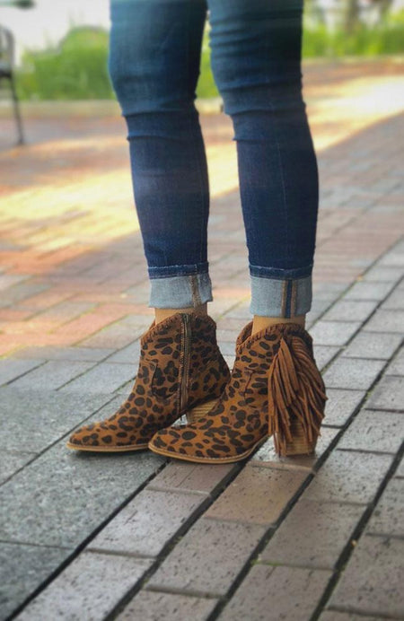 Dark Rust Bootie