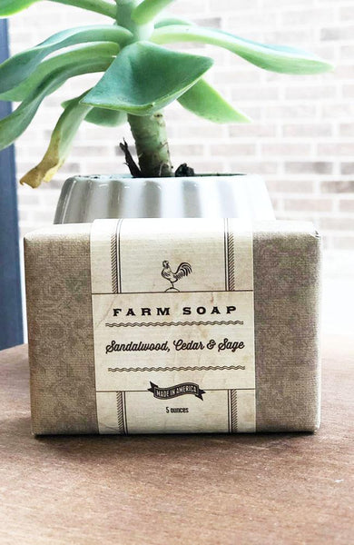 Park Hill Sandalwood, Cedar & Sage Hand Soap - THE WEARHOUSE