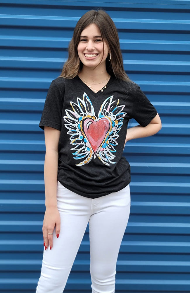 Tammy Texas Heart Graphic Tee