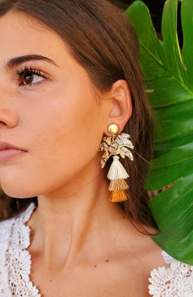 Palm Springs Statement Earrings
