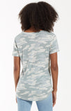 Dusty Sage Camo Pocket Tee