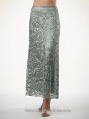 C462 Crochet Lace Skirt