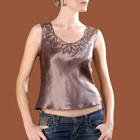 C1108 Handmade Lace Top