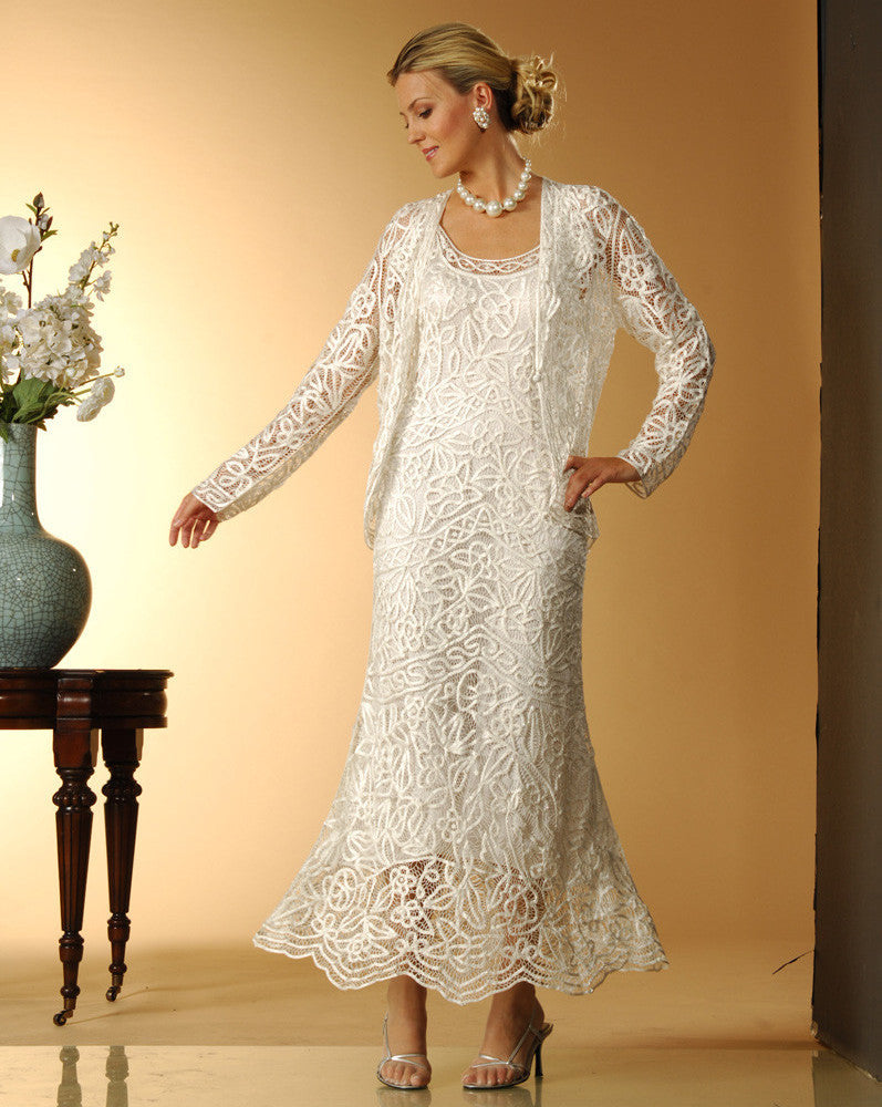 C715 Embroidered Dress Jacket
