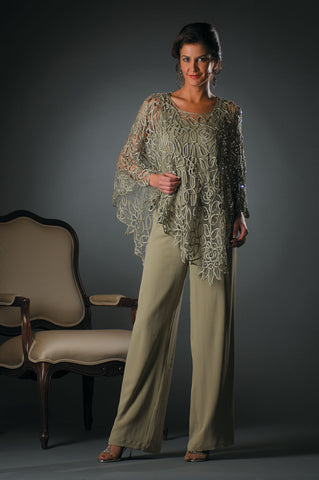 C881 Beaded Poncho