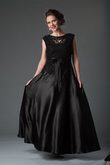 1611Soulmates Embellished Bow Evening Dress Ball Gown