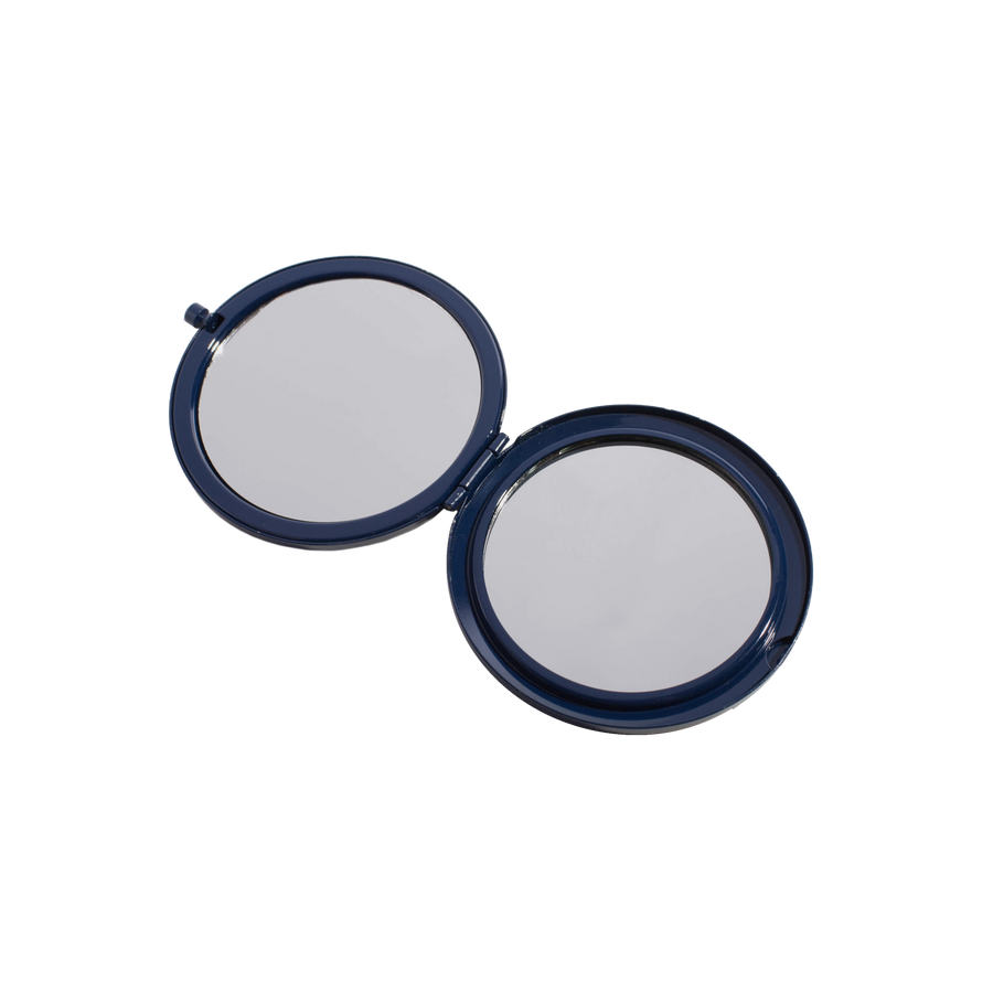 Navy Compact Mirror
