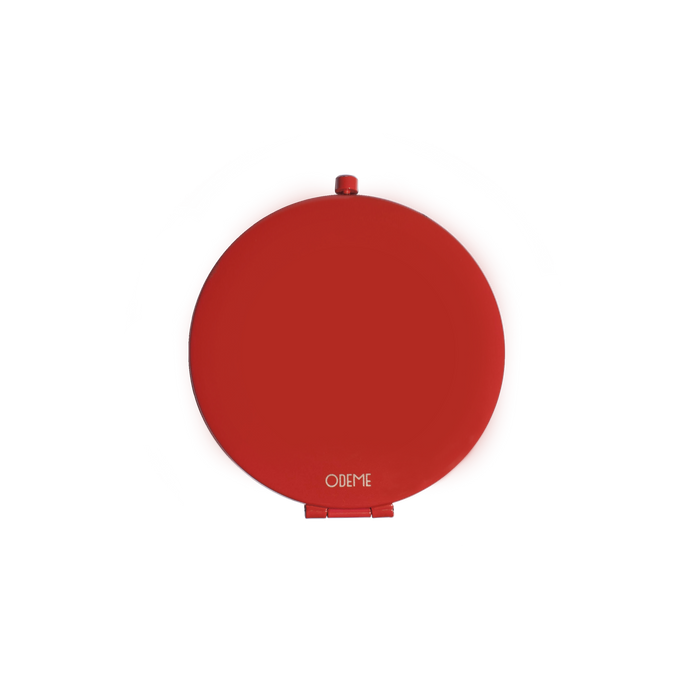 Red Compact Mirror