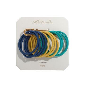 Navy Variety Hair Bands