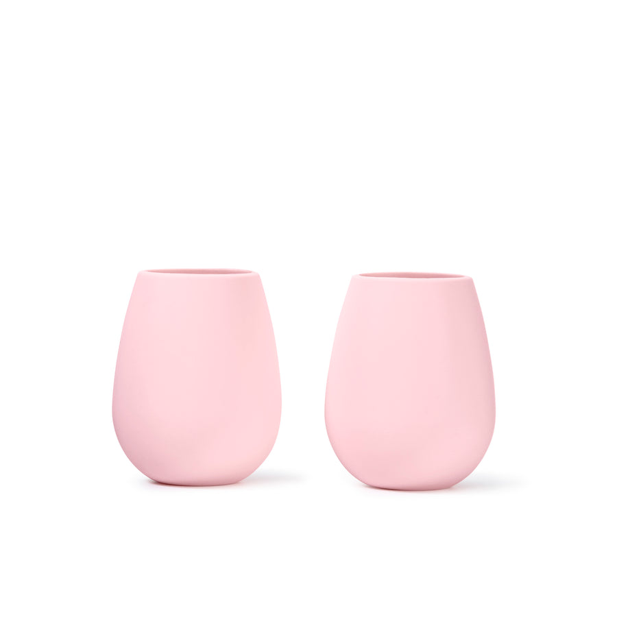 843226c8fdc Set of Two Silicone Wine Glasses