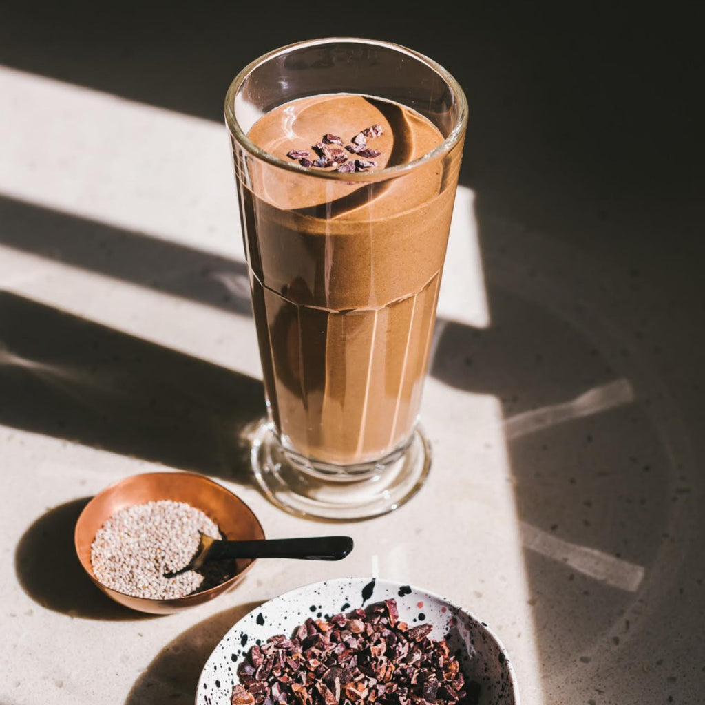 DRINK UP: Afternoon Chocolate Milkshake