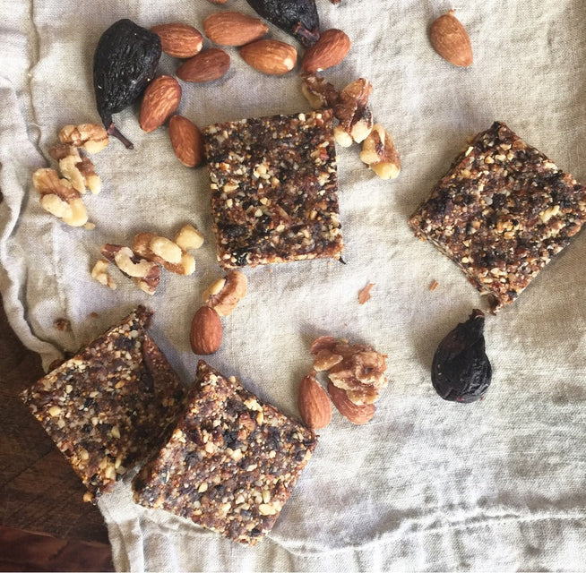 MEATLESS MONDAY: No-Bake Spiced Fig Bars